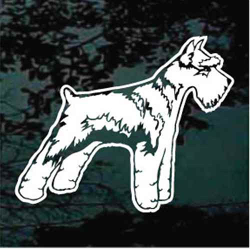 Accurate Schnauzer Decals