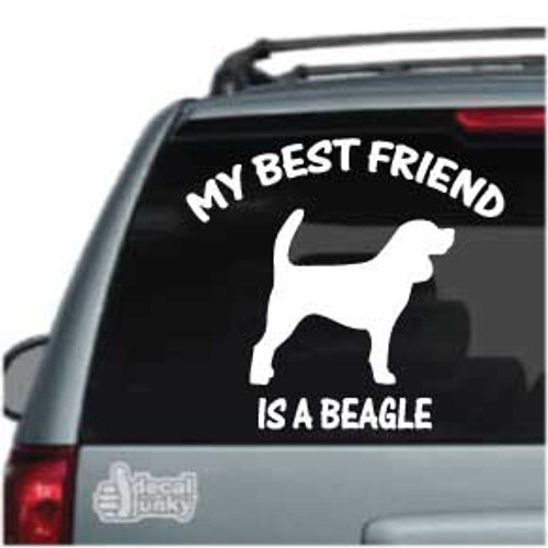 Best Friend Beagle Silhouette