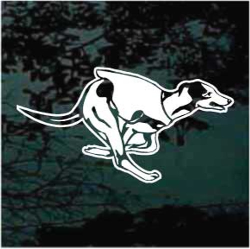 Greyhound Dog Racing Decals