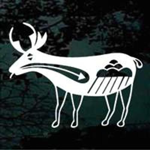 Petroglyph Deer 02