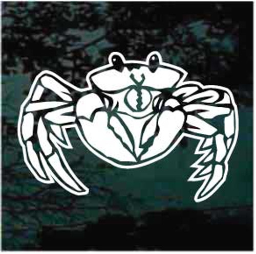 Awesome Crab Window Decal