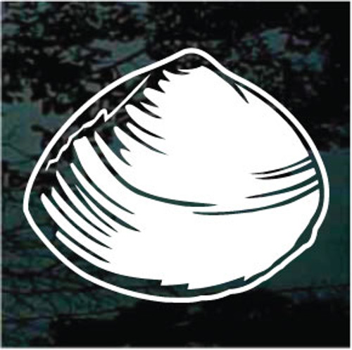 Clam Shell Window Decals