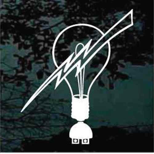 Light Bulb Lightning Bolt