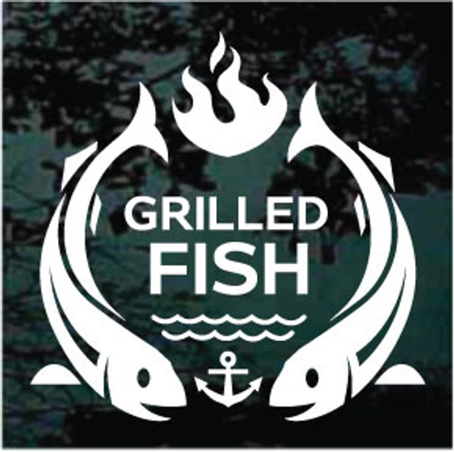 Grilled Fish Sign