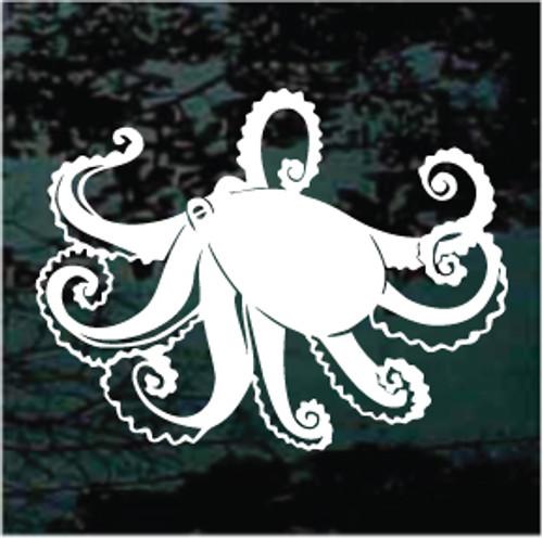 Ideal Octopus Window Decals