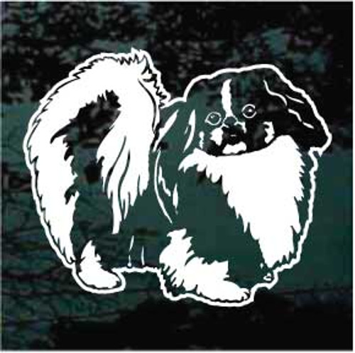 Pekingese 01 Window Decal