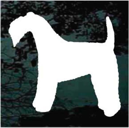 Kerry Blue Terrier 01 Silhouette