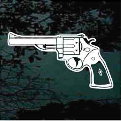 44 Magnum Gun Window Decals
