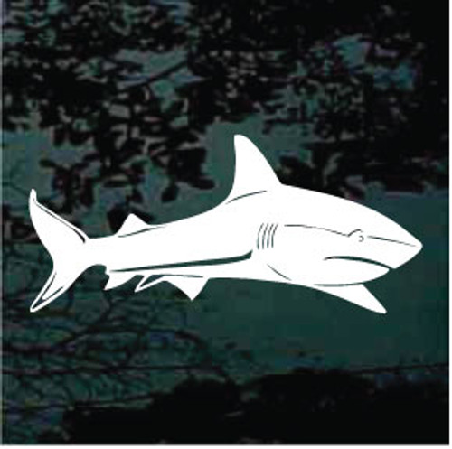 Shark Design Window Decals