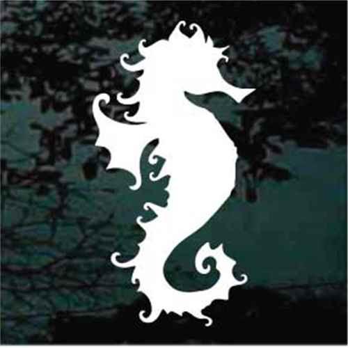Solid Decorative Seahorse