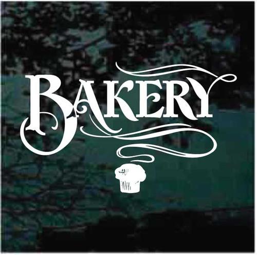 Bakery Window Sign Decals