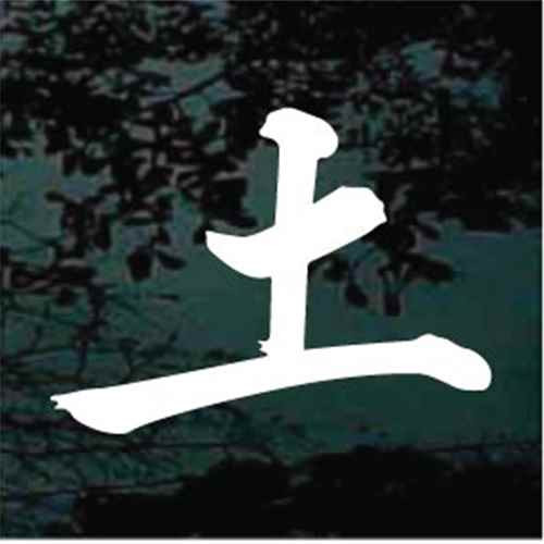 Chinese Earth Tattoo