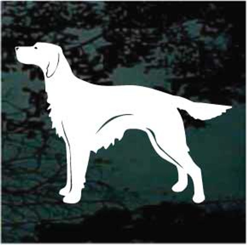 Irish Setter 02 Window Decal