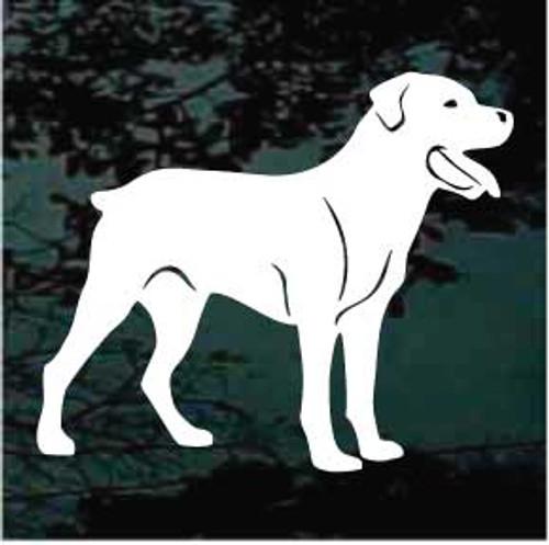 Rottweiler 03 Window Decal