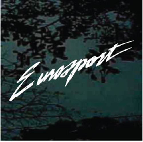 Eurosport Window Decals