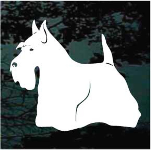 Scottish Terrier 03 Window Decal