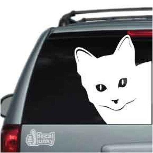Cat Corner Car Decal