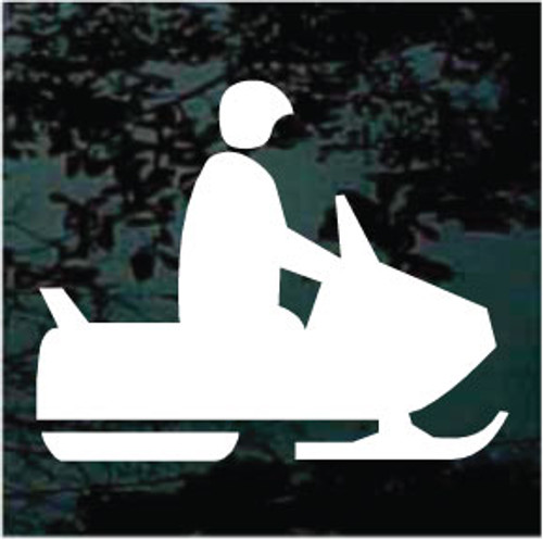Snowmobile Area Symbol 01