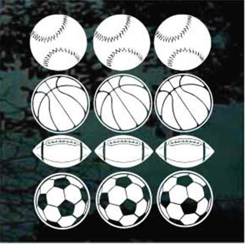 12 Assorted Sports Balls