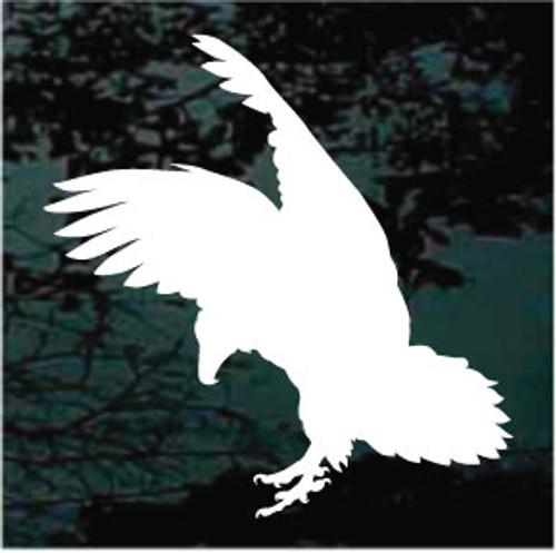 Eagle Bird Silhouette Window Decals