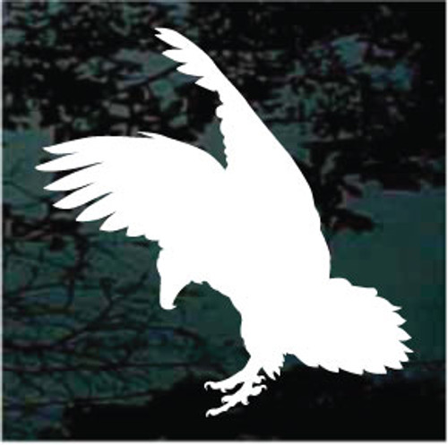 Eagle Bird Silhouette Window Decals