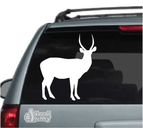 Solid Antelope Car Decal