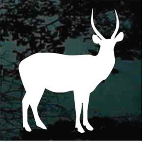 Solid Antelope Window Decal
