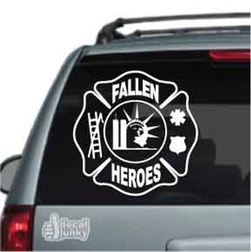 Fallen Heroes Car Decal