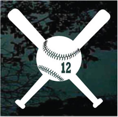 Softball & Bats 01 Rockwell Number