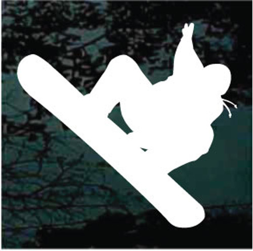 Snowboarding Silhouette 01