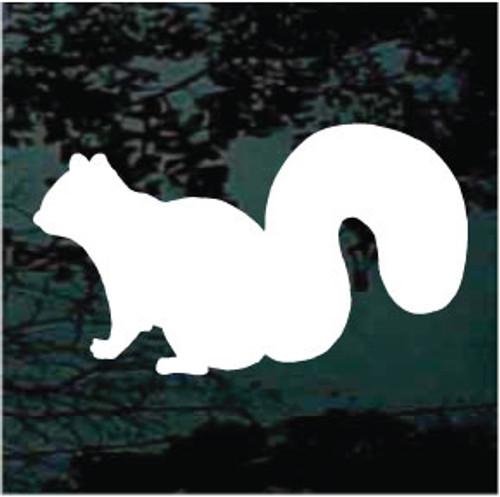 Squirrel Silhouette 02