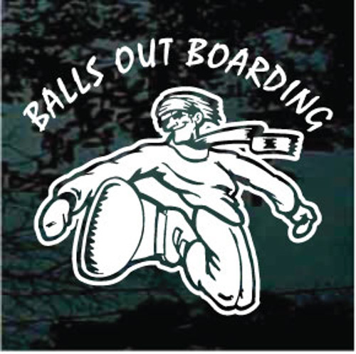 Balls Out Snowboarding