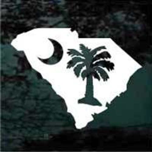 State of South Carolina Plametto Tree