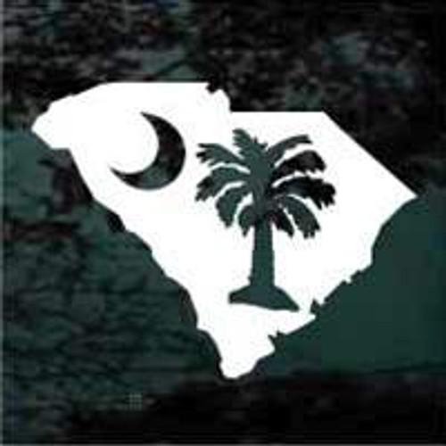 State of South Carolina Palmetto Tree