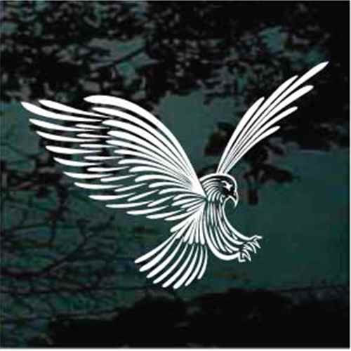 Detailed Eagle Window Decals
