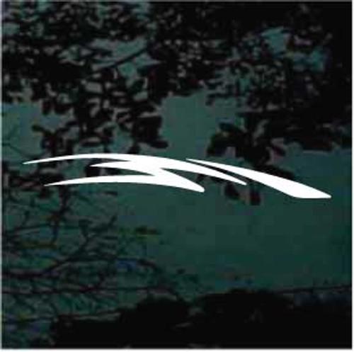 Auto Graphic Window Decals Design 11