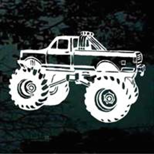 Realistic Monster Truck