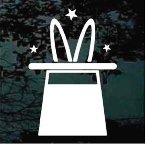 Rabbit In Magician's Hat