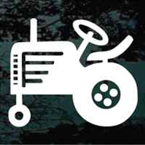Simple Tractor Icon