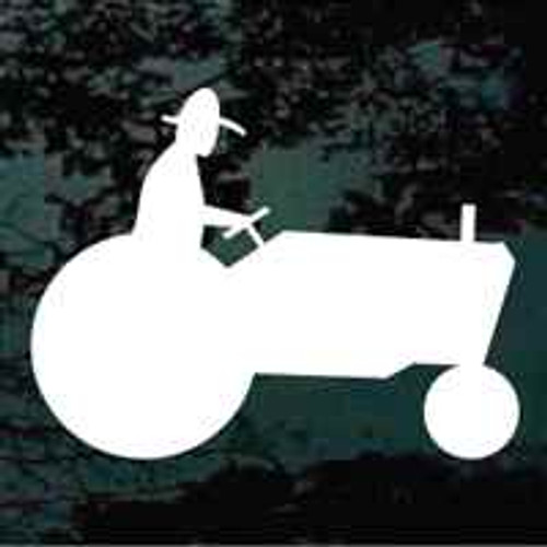 Tractor Sign Silhouette