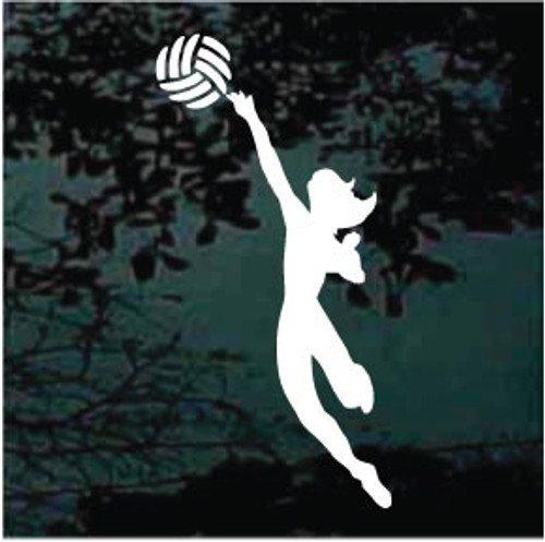 Volleyball Player 02 Decals