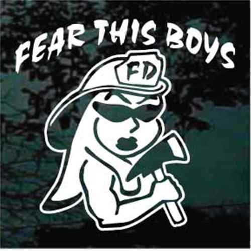 Bad Girl Firefighter Fear This Boys