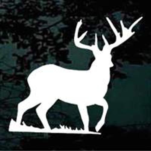 8 Point Deer Silhouette