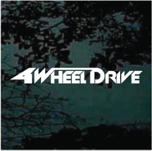 Four Wheel Drive Truck Decals