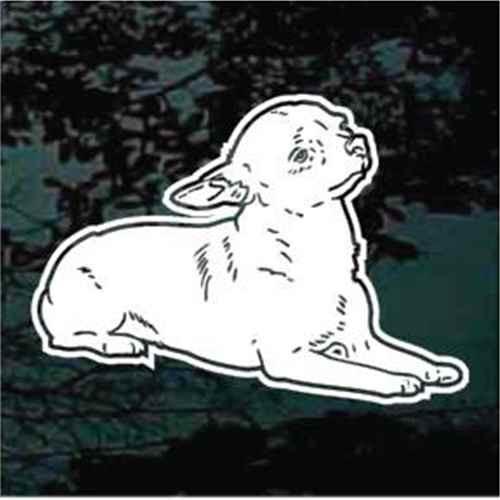 Chihuahua Down Window Decal