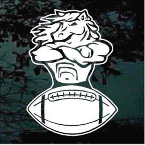 Mustang Football Mascot