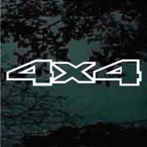 4x4 Truck Decals Design 09