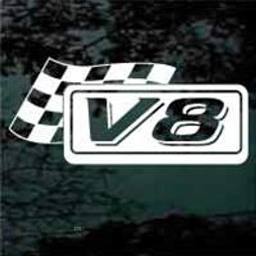 V8 Race Flag