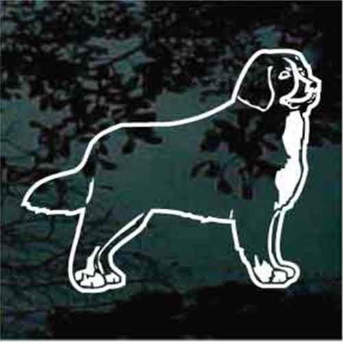 Bernese Mountain Dog Stance Window Decal