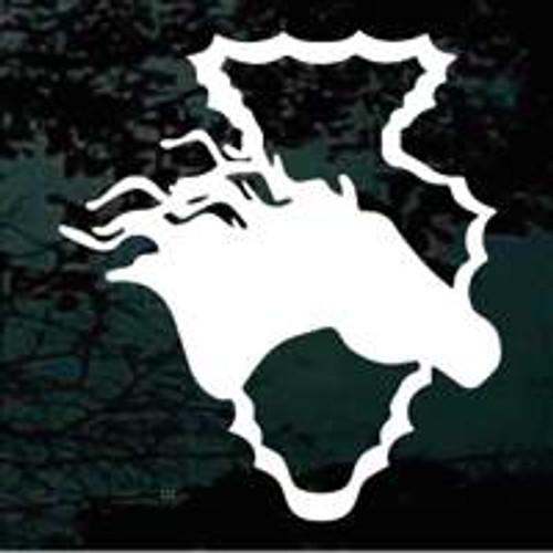 Horse Head Arrowhead Decals